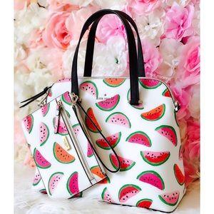 kate spade Bags - Kate Spade Make A Splash Watermelon Bag Wristlet